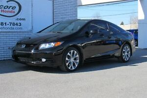 2012 Honda Civic Si*SELEUMENT 39 740 KM*UN PROPRIETAIRE*DEMARREU