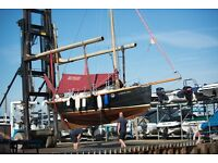 Experienced and skilled forklift, telehandler and tractor driver for busy marina business