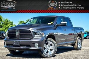 2017 Ram 1500 Crew Cab Sport Leather Sunroof RamBox Air Suspenti