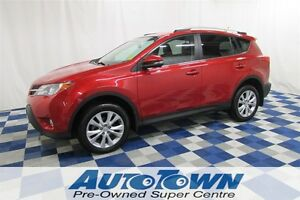 2013 Toyota RAV4 Limited/AWD/REAR VIEW CAMERA/LEATHER INTERIOR