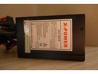 X-POWER ATX-700TW - 700W Power Supply, Almost BRAND NEW.
