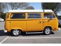 975d7ca5f7 1976 VW T2 Westfalia LH Drive Tax   Mot Exempt. Historic Vehicle Status