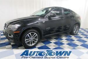 2014 BMW X6 35I AWD/PANORAMIC/NAV/LEATHER INTERIOR/F&R HEATED