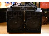 R.C.L Speakers with Skytec Pro Amplifier
