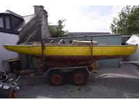 Wooden Boat Project: Loch Long One Design No.51 - Winkle