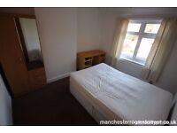 £425PCM, 1 LARGE FUNISHED EN SUITE DOUBLE BEDROOM TO RENT, AMAZING TRANSPORT LINKS, MANCHESTER