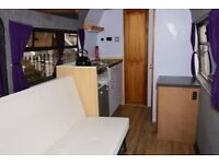 Mercedes Sprinter Conversion Campervan - full size double bed, shower, fridge freezer, hot water