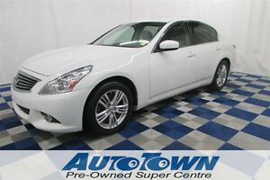 2011 Infiniti G25 LOW KM/CLEAN HISTORY/LEATHER INTERIOR!!!!
