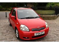 2004 TOYOTA YARIS 1.3 VVTI T SPIRIT 3DR **TOP SPEC** **2 LADY OWNERS** **FSH - 8 SERVICES**
