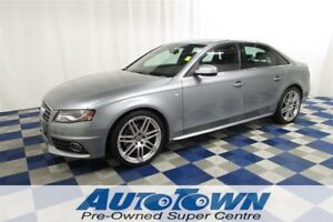 2010 Audi A4 2.0T Premium SLine AWD/NAV/REAR CAM/ACCIDENT FREE