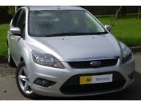 £0 DEPOSIT FINANCE*** Ford Focus 1.6 Zetec 5dr **FORD + 1 LADY OWNER**35000 M...