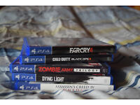 1TB PS4 and 5x games for Sale