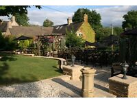 Experienced cook or assistant chef required (full or part time) in country pub