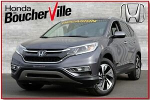 2015 Honda CR-V Touring AWD Cuir Camera Bluetooth Navigation