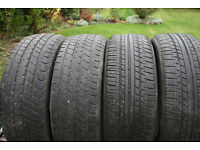 185/55R16 PARTLY WORN BRANDED TYRES
