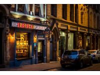 Bar, floor and waiting on staff required for European beire cafe