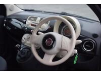 FIAT 500 1.2 POP 3d 69 BHP (black) 2010