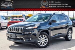 2017 Jeep Cherokee Limited|4x4|Backup Cam|Bluetooth|Leather|R-St