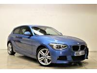 BMW 1 SERIES 2.0 125D M SPORT 3d 215 BHP ONLY 2 PREVIOUS OWNERS (blue) 2013