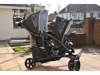 pushchair double Graco Quattro Duo in Sport Luxe - Double Travel System