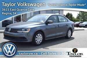 2015 Volkswagen Jetta Trendline plus 2.0 6sp w/Tip Well Equipped