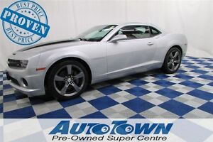 2012 Chevrolet Camaro 2SS 6.2L V8/LEATHER/LOADED