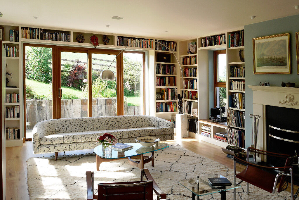 bespoke bookcases living room alcoves bedroom furniture from the