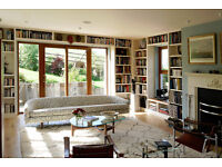 Bespoke bookcases, living room alcoves, bedroom furniture from the Belfast Bookcase Company
