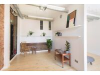 Studio 001 / Large and bright creative workspace / office / Netil House / London Fields / Hackney