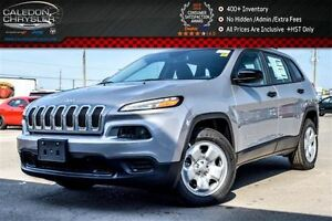 2016 Jeep Cherokee NEW Car|Sport|Backup Cam|Bluetooth|Pwr Window