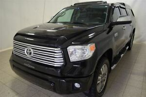 2014 Toyota Tundra Platinum, Crewmax, Toit Ouvrant, Navigation,