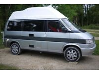 VW T4 Caravelle High Top Camper Van professional build great setup 12months MOT many extras MUST SEE