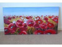 Let Magnificent Red Poppies create a Major Impact in your home!