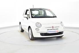 FIAT 500 1.2 Lounge 3dr [Start Stop] (white) 2014
