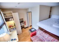 MINI STUDIO ALL INCLUSIVE-SPECIAL PRICE 300pw for summer-ready to move in NOW! WIFI FREE/TV/LAUNDRY