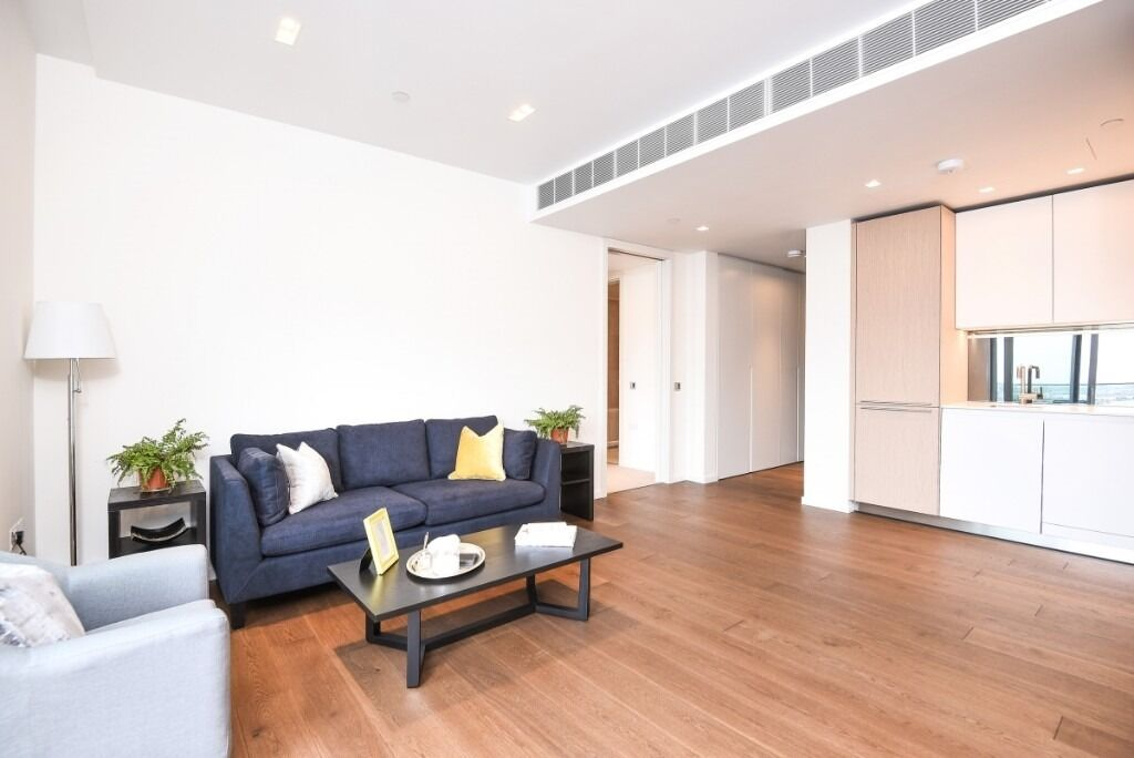 A modern, newly developed one double bedroom apartment, Lillie Square, SW6