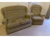 Sherborne 2 seater sofa and armchair