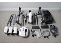DJI Inspire 1 Pro with X5, x4 TB47 Batteries, x2 Chargers