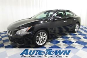 2011 Nissan Maxima SV/ACCIDENT FREE/LEATHER/SUNROOF/HTD SEATS