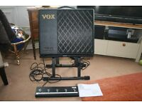 VOX VT40X Modelling amp plus footswitch