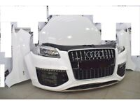 Car Part: Single unit set front end for Audi Q7 4L Facelift V12 5.0 TDI 2008- 2014 LHD