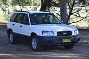 Subaru Forester 2.5X, 2005, White Bathurst Bathurst City Preview