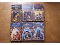 6 Fred Saberhagen fantasy novels - The Book of Swords and The Book of Lost Swords complete