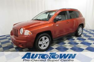 2010 Jeep Compass Sport/North/ALLOYS/AC/LOW KM/GREAT PRICE!