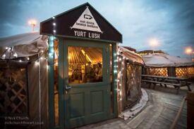 Kitchen Porter - Yurt Lush