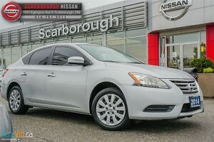 2013 Nissan Sentra 1.8 S-ACCIDENT FREE WITH LOW KM'S!!!!