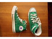 For Sale Green Converse All Star Size UK 6