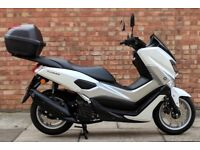 Yamaha NMAX 125 (17 REG), *2 MONTHS OLD*, Excellent condition, One owner, 21 months warranty!