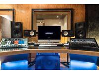 Recording Studio, production, mixing & mastering - £200/day