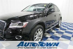 2013 Audi Q5 2.0T AWD/ ONE OWNER!!/LTHR/PWR GATE/PUSH START